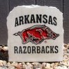ARKANSAS RAZERBACK SQUARE PORCH ROCK ARKANSAS RAZORBACKS