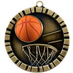 Basketball  3-D Series Medal Awards