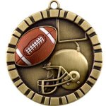 Football  3-D Series Medal Awards