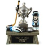 Vintage Trophy Award Hockey 3D Resin Trophy Awards