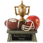 Football Vintage Trophy Award  3D Resin Trophy Awards