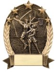 5 Star Oval Basketball 5 Star Oval Resin Trophy Awards