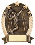 5 Star Oval Tennis 5 Star Oval Resin Trophy Awards