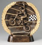 Resin Plate Motocross Car/Motorcycle/Racing Awards
