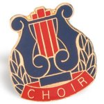 Choir Lapel Pin Chenille & Scholastic Pins