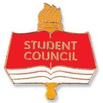 Student Council Lapel Pin Chenille & Scholastic Pins