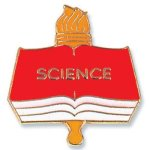 Science Lapel Pin Chenille & Scholastic Pins