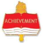 Achievement Lapel Pin Chenille & Scholastic Pins
