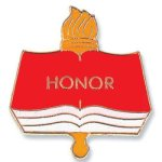 Honor Lapel Pin Chenille & Scholastic Pins