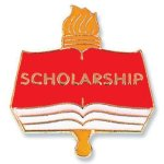 Scholarship Lapel Pin Chenille & Scholastic Pins