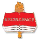 Excellence Lapel Pin Chenille & Scholastic Pins
