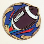 Color Star Football Medals Color Star Medals