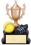 Cup Theme Series Softball Cup Resin Trophy Awards
