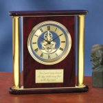 Large Clock with Exposed Gears Desk Clocks