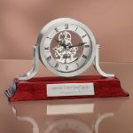 Exposed Gear Desk Clock Desk Clocks