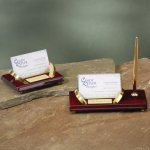 Business Card Holders Desk Pen Sets