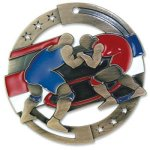 Wrestling Enamel Medal Awards