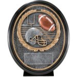 Football Resin Oval Fantasy Football Awards