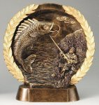Resin Plate Fishing Fishing Awards