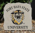FORT HAYS STATE SMALL  PORCHSTONE FORT HAYS STATE TIGERS