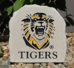 SMALL TIGER DESK STONE FORT HAYS STATE TIGERS