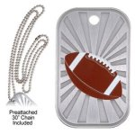 Football  GL Series Dog Tags