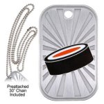 Hockey  GL Series Dog Tags