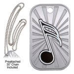 Music  GL Series Dog Tags
