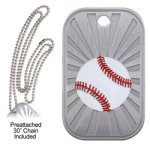 Baseball  GL Series Dog Tags