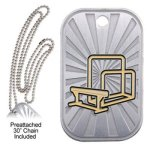 Gymnastics  GL Series Dog Tags