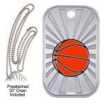 Basketball  GL Series Dog Tags