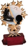 Hockey - Starburst Resin Trophy Hockey Awards