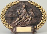 Ice Hockey Oval Plate Hockey Awards