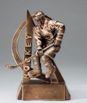 Hockey Ultra Action Sports Resin Trophy Hockey Awards