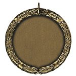 1 1/2 Blank Gold Insert Medallion Awards