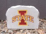 IOWA STATE CYCLONE SMALL PORCH STONE IOWAS STATE CYCLONES