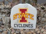 IOWA STATE CYCLONE SMALL DESK STONE IOWAS STATE CYCLONES