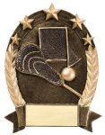 5 Star Oval Lacrosse Generic Lacrosse Awards