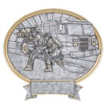 Legend Firefighter Oval Award Legend Oval Resin Awards