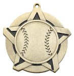 Baseball Super Star Medal   Medals/Pins