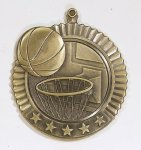 Star Basketball Medals Medals