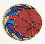 Color Star Basketball Medals Medals