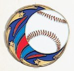 Color Star Baseball Medals Medals