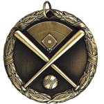 Baseball with Field Medals