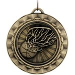 Basketball Spin Medals