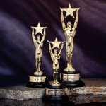 Star Achievement Metal Star Casting Awards