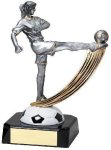 Soccer Female Motion Resin Motion X Swoosh Resin Trophy Awards