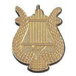 Music Lyre Chenille Pin Music/Band Awards
