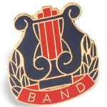Band Chenille Pin Music/Band Awards