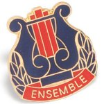 Ensemble Lapel Pin Music/Band Awards